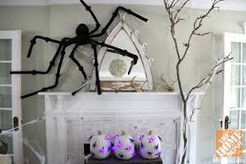 luxury halloween decorations for the fireplace mantel home