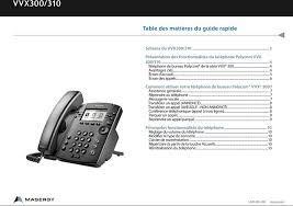 comment repondre au telephone au bureau guide rapide du téléphone de bureau polycom vvx 300 date du