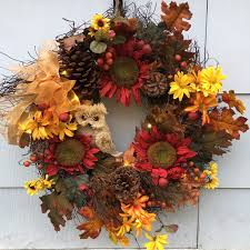 autumn wreath homely handmade fall wreath designs for the coming season