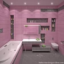 Pink Tile Bathroom Bathroom Designs Bathroom Floor Porcelain Tile Pink Bathroom