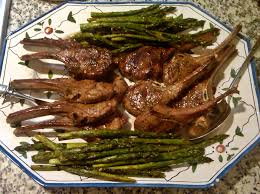 grilled asparagus can i get a sample