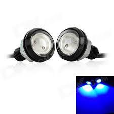 eagle view tattoo machine lights 3w 110lm led blue light eagle eye car decoration backup l 2