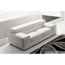 canape cuir blanc convertible canapé cuir design et canapé en cuir design italien blanc marron