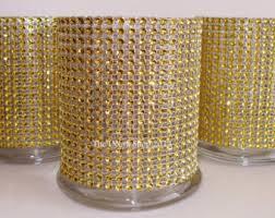 Bling Wrap For Vases Cylinder Vase Etsy