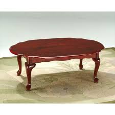 mahogany coffee tables ethan allen interior for thippo