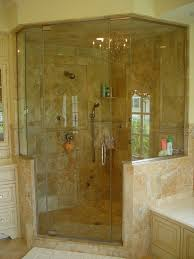 Built In Shower by Custom Glass Shower Doors Favorable Frameless Glass Shower Doors