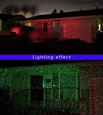 Christmas Lights Projector On House by Outdoor Ip65 Waterproof Red Green Moving Twinkle Laser Lights
