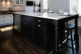kitchen room top espresso kitchen island with modern design and