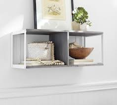 Pottery Barn Cubes Display Wall Double Cube Pottery Barn Au