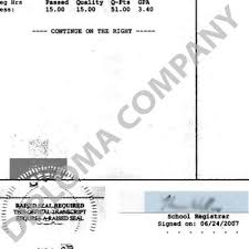 fake transcript samples diplomacompany com