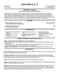 Manufacturing Resume Templates Professional Engineer Resume Template Engineering Cv Template