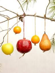 halos fruit ornaments halos
