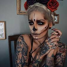 442 best halloween images on pinterest makeup make up and fantasy