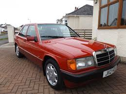 1991 mercedes benz 190e w201 2 0 manual low mileage 77k in