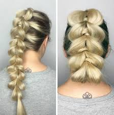 tuck in hairstyles 20 ways to style a pull through braid 2018 definitive guide