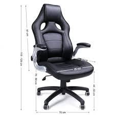 fauteuil de bureau sport fauteuil de bureau sport à hauteur réglable simili noir neuf top