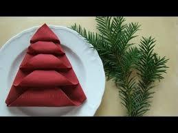 weihnachtsservietten falten servietten falten tischdeko weihnachten weihnachtsdekoration