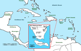 Dr Map Taino Sites In The East National Park