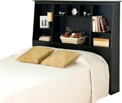 Queen Headboard Bookcase Bookcase Prepac Black Kallisto Bookcase Headboard With Doors