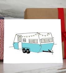 Rv Camper Holiday Cards 10 Pack Art Cards U0026 Stationery Sloe