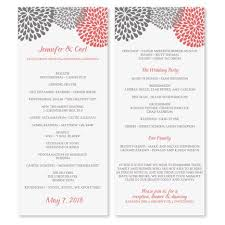 Sample Wedding Programs Templates The 25 Best Wedding Program Template Word Ideas On Pinterest