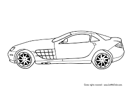 mclaren mercedes coloring page wecoloringpage download mercedes