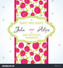 Marriage Wedding Invitation Cards Wedding Invitation Card Design Rose Flowers Stock Vector 225759316