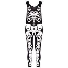 skeleton leggings spirit halloween womens halloween skeleton bones ladies bodycon tunic t shirt dress
