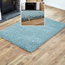 Large Modern Rug Small To Large Modern Rug Duck Egg Blue Thick 5cm High