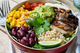 lime love eating clean chicken burrito bowls cilantro lime rice