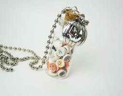bottle necklace pendant images Halloween clay slices 2ml glass bottle glass vial pendant jpg