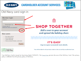 Dress Barn Credit Card Payment Address Old Navy Visa Card Payment Billqa