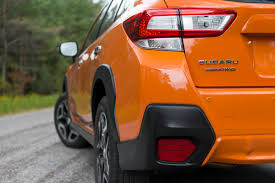 crosstrek subaru orange all new 2018 subaru crosstrek 13 new things you need to know