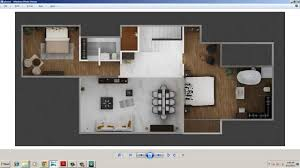Floor Plan Renderings 3d Plan Designing And Rendering With 3d Studio Max Part 06 B Youtube