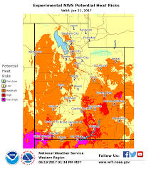 Green River Utah Map by As Utah Heats Up New Warning System Deployed Kuer 90 1