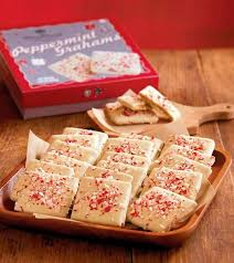 Food Gifts To Send Peppermint Chocolate Covered Graham Crackers Make A Great Gourmet
