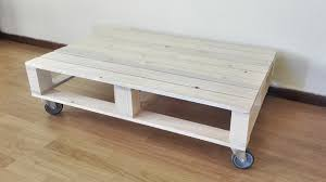 Pallet Coffee Tables Single Pallet Coffee Table Wheels Creator Creations Nelspruit