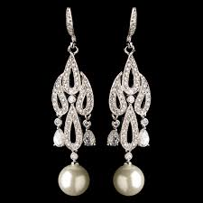 and pearl chandelier 8 chandelier bridal earrings every will