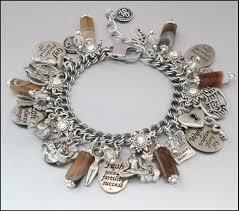 silver jewelry charm bracelet images Charm bracelet jewelry harry potter inspired alice in jpg