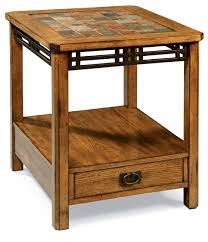 golden oak end tables furniture oak accent table bryson rustic x base tables by inspire
