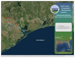 Galveston Map Draft Initial Funded Priorities List Restore The Gulf