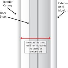 Installing An Interior Door Frame How To Install A Pre Hung Entry Door Barton U0027s Lumber Co