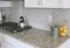 light grey brick tiles add subtle light grey colour to your kitchen splashback or bathroom