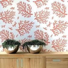 coral fabric shower curtains coral pattern shower curtains coral