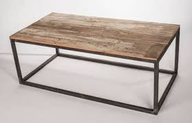 Nice Wood And Metal Coffee Table Metal Frame Wood Top Table