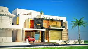 3d front elevation com 1 kanal plot new beautiful modern