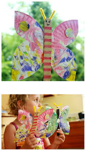 a paper plate butterfly craft for kids a great summer activity