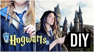 diy hogwarts student uniform harry potter inspired halloween