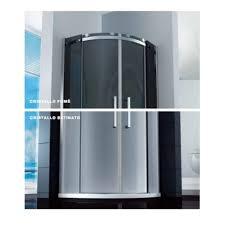 box doccia cristallo 80x80 box doccia semicircolare porta scorrevole 8mm cristallo