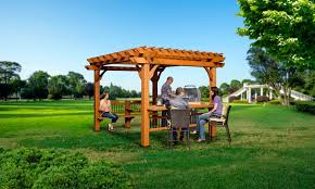 garden oasis pergola 9 x 12 home outdoor decoration